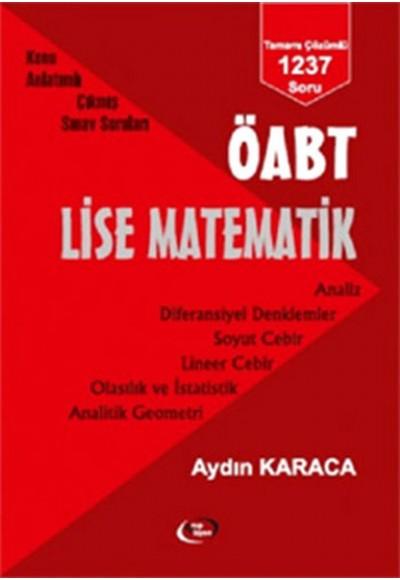 ÖABT Lise Matematik Konu Anlatımlı Çıkmış Sınav Soruları