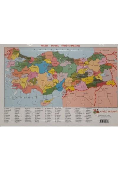 Puzzle Türkiye Haritası