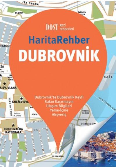 Dubrovnik Harita Rehber Ciltli