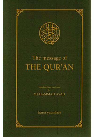 The Message Of The Qur'an Hafız Boy