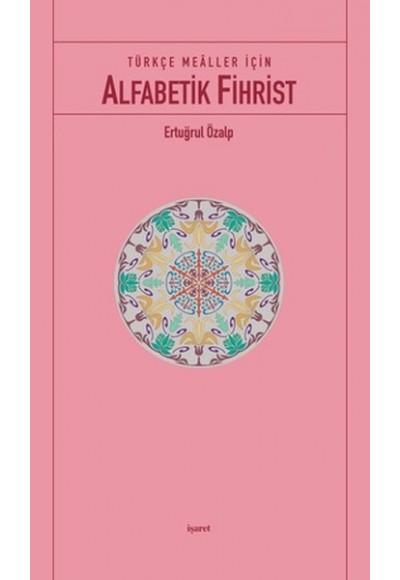 Türkçe Mealler İçin Alfabetik Fihrist cep boy