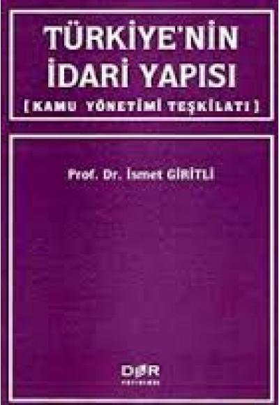 Türkiyenin İdari Yapısı Kamu Yönetimi Teşkilatı