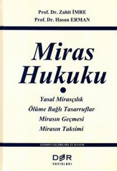 Miras Hukuku Ciltli