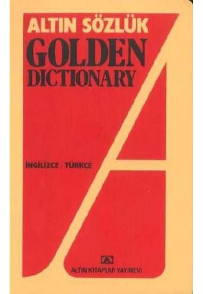 Altın Sözlük Golden Dictionary İngilizce Türkçe