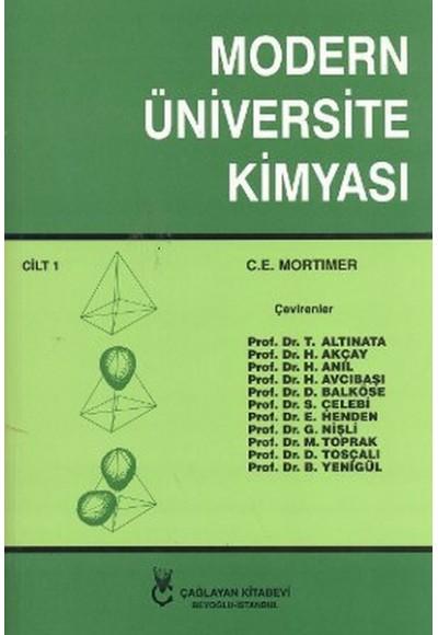 Modern Üniversite Kimyası Cilt 1 Heyet