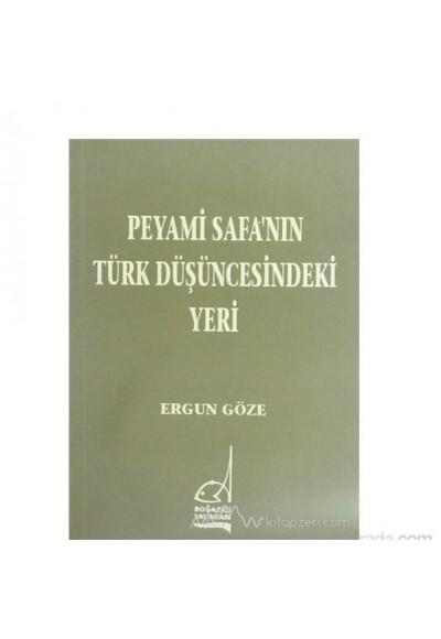 Peyami Safanın Türk Düşüncesindeki Yeri