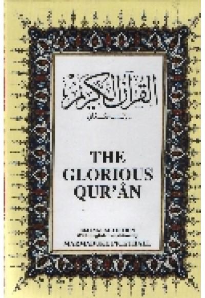 The Glorious Qur'an Arapça İngilizce