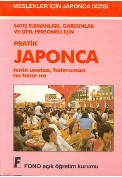 Satış Elemanları Garsonlar Oteller için Japonca