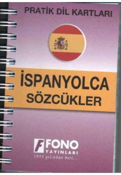 Pratik Dil Kartları İspanyolca Sözcükler