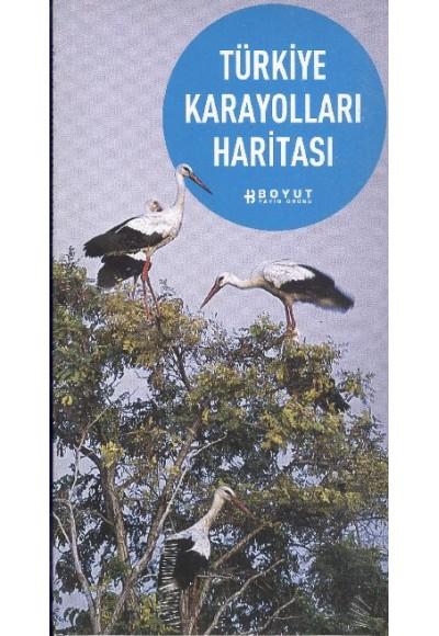 İstanbul'dan Bodrum'a Yol Kitabı Türkiye Karayolları Haritası
