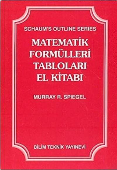 Matematik Formülleri Tabloları El Kitabı
