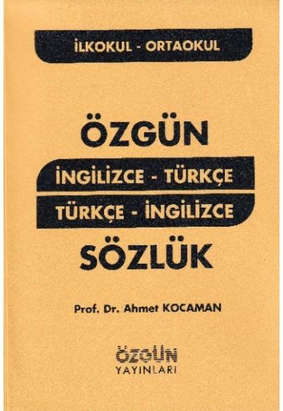 İngilizce - Türkçe Türkçe - İngilizce Sözlük