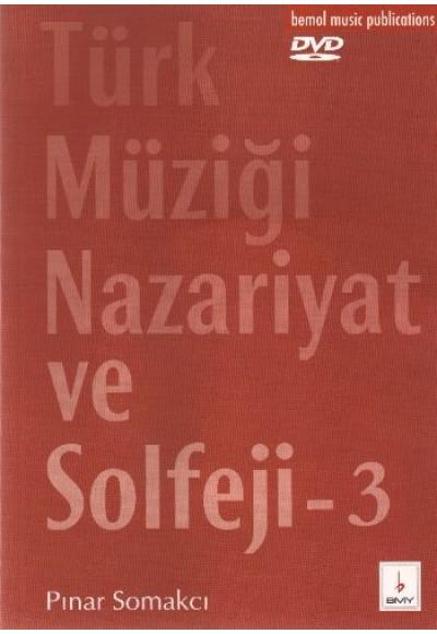 Türk Müziği Nazariyat ve Solfeji 3 Dvd'li