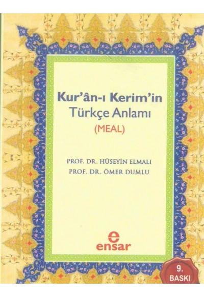 Kur'an ı Kerim'in Türkçe Anlamı Meal Cep Boy