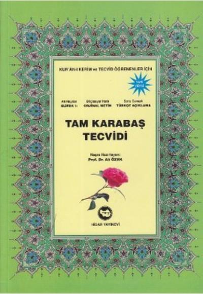 Tam Karabaş Tecvidi 16x23,5