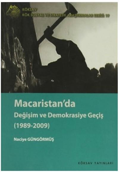 Macaristan'da Değişim ve Demokrasiye Geçiş 1989 2009