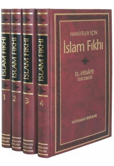 İslam Fıkhı El Hidaye Tercemesi 4 Cilt Şamua Kağıt