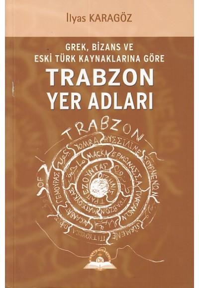 Trabzon Yer Adları