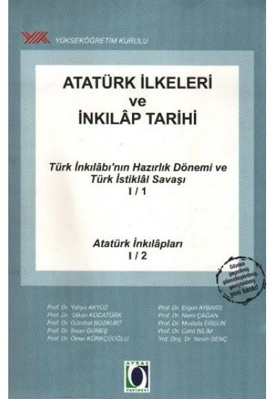 Atatürk İlkeleri ve İnkılap Tarihi Türk İnkılabı'nın Hazırlık Dönemi ve Türk İstiklal Savaşı I