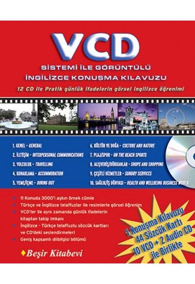 VCD Sistemi ile Görüntülü İngilizce Konuşma Kılavuzu (12 CD ile)
