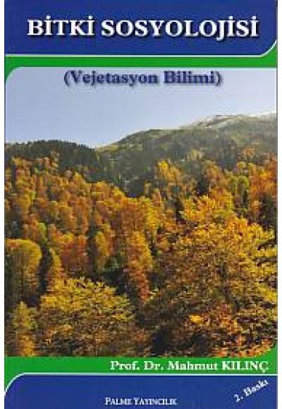 Bitki Sosyolojisi Vejetasyon Bilimi