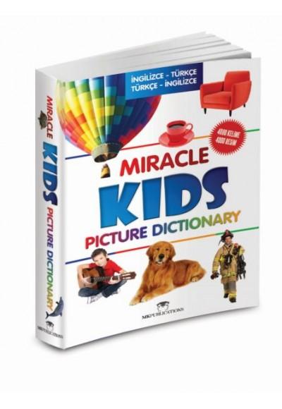 Miracle Kids Picture Dictionary İngilizce Türkçe Türkçe İngilizce