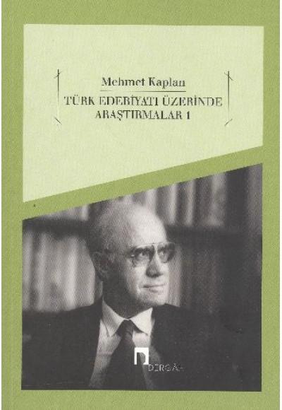 Türk Edebiyatı Üzerinde Araştırmalar-1