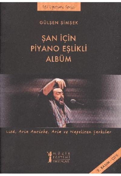 Şan İçin Piyano Eşlikli Albüm Cd İlaveli