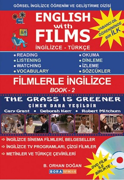 English with Films Book 2 (DVD'li)