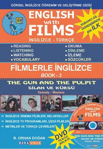 English with Films Book 3 (DVD'li)