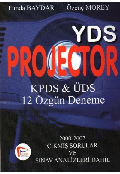 Pelikan YDS Projector KPDS ÜDS 12 Özgün Deneme
