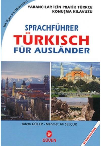 Yabancılar İçin Türkçe Konuşma Kılavuzu Cep Almanca