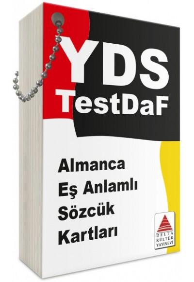 Delta Kültür Almanca Eşanlamlı Sözcük Kartları YDS TestDaF