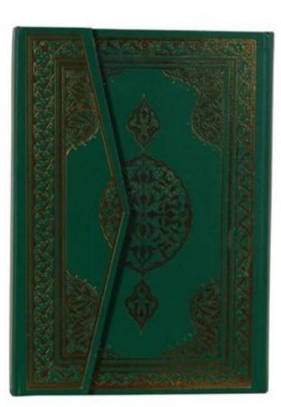 Kuran ı Kerim Rahle Boy 4 Renkli Şamua