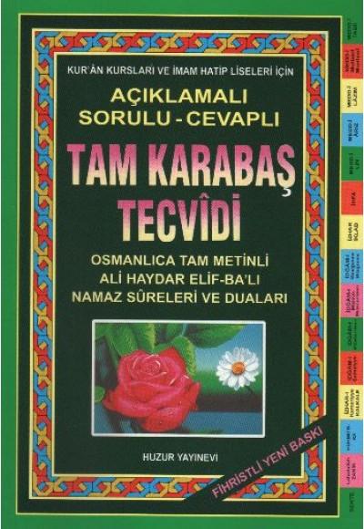 Tam Karabaş Tecvidi Fihristli Kod 034