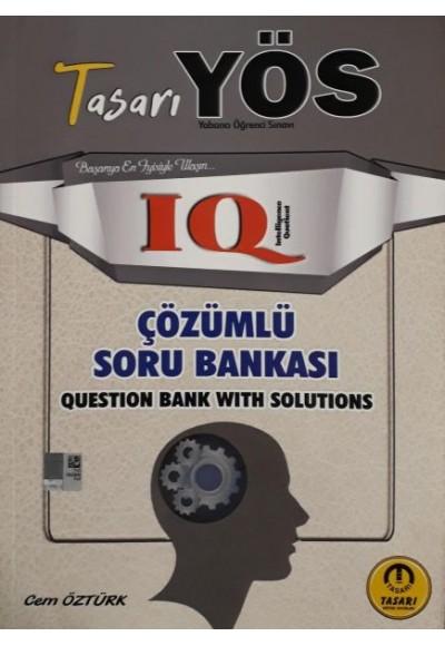 Tasarı YÖS IQ Çözümlü Soru Bankası 2020 (Yeni)