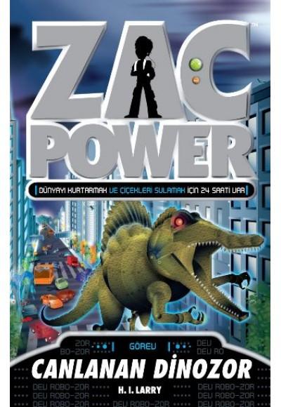 Zac Power 24 Canlanan Dinozor