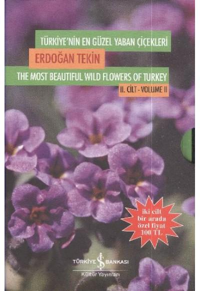 Türkiyenin En Güzel Yaban Çiçekleri 2 Cilt Takım Kutulu