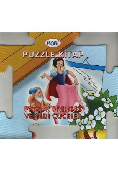 Pamuk Prenses ve Yedi Cüceler Puzzle Kitap