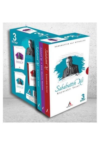 Sabahattin Ali 3lü Kitap Roman Seti